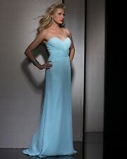 1196 CLARISSE 2588 3-4 POWER BLUE $178   FORMA FORMAL   PAGEANT PROM GOWN DRESS