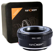 K&F Concept M42-NEX Adapter M42 Lens to Sony NEX / E Mount Mirrorless (KF06.067)
