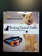 New listing Barking Control Collar by Montaur, Sound & Vibration, No Shock! Dogs 5-150 lbs