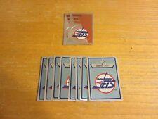 Winnipeg Jets Lot of 10 Foil Logo Hockey Stickers NHL