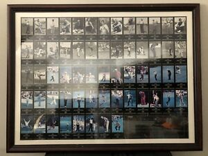 Framed Champions of Golf The Masters Collection 1934-1996 C of A | Free Shipping
