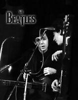 "The Beatles Paul McCartney George Harrison Photo Print 8.5 x 11"""