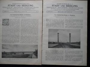 1927 Mannheim Friedrich Ebert Brücke