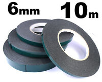 Indasa 6mm Double Sided Car Trim Moulding & Badge Tape- Strong Foam Adhesive