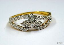 ethnic 18k gold ring handmade gold ring traditional jewelry of india