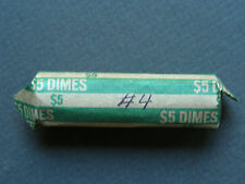 1962-1964 ROOSEVELT SILVER DIMES CIRCULATED ROLL (50 COINS) #4