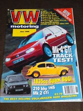 VW MOTORING - Mk 4 GTi TRACK TEST - June 1998
