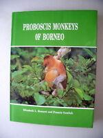 Proboscis Monkeys of Borneo 1993 Affen Rüssel Rüsselaffen