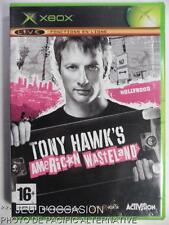 Incomplet jeu TONY HAWK'S AMERICAN WASTELAND microsoft XBOX skate sport game #1