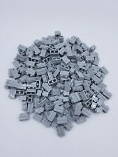 LEGO LOT 100 X BRIQUE MASONRY 1X2 GRIS CLAIR /LIGHT BLUISH GRAY REF 98283 NEUVES