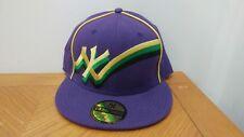 """New York Yankees Purple Baseball Cap 7 1/2"""" Genuine Merchandise"""