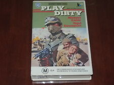 Play Dirty VHS 1969 Michael Caine Warner Home Video