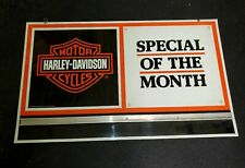 Harley Davidson motorcycle sign.see my other porcelain neon signs