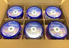 120 VERBATIM DVD+R DL DOUBLE LAYER 8.5 GB 8X 240 MIN AZO  6x20 PACK SPINDLE