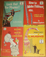 Look Out for Pirates! ~ How to Make Flibbers ~ Dr Seuss Beginner Bk vintage lot