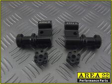 Area 22 2014 2015 Honda MSX125 Grom Swingarm Spool Mounts Bobbins Black