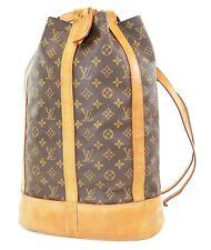 Authentic Louis Vuitton Randonnee GM Monogram Zaino Borsa a tracolla #37478