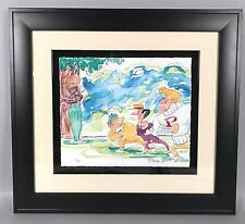 Chuck Jones Watercolor Lithograph - The Dover Boys - WB Looney Tunes LE 59/75
