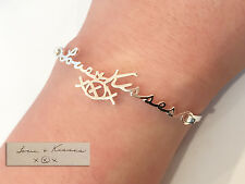 Actual Handwriting Bangle Bracelet- Personalized Signature Bracelet - Love gift