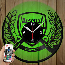 LED Vinyl Clock Arsenal LED Wall Art Decor Clock Original Gift 2977