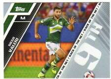2017 Topps MLS Soccer Back of the Net #BOTN-9 Diego Valeri Portland Timbers