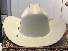 ResistolXXXXX 5X Beaver Felt Cowboy Hat SIZE 6 7/8 Cattleman - Mist Tan Vintage