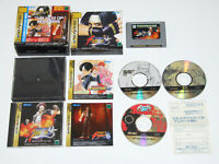 The King of Fighters Best Ciollection 95 96 97 SEGA Saturn Video Game