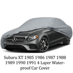 Subaru XT 1985 1986 1987 1988 1989 1990 1991 4 Layer Waterproof Car Cover