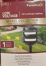 Paradise Cast Aluminum Low Voltage 12V Landscape Lighting