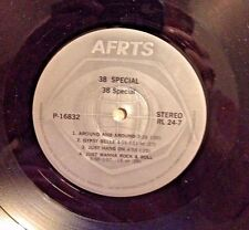RADIO SHOW: STEVE MILLER BAND & .38 SPECIAL RARE PRESSING FOR COLLECTORS