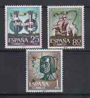 ESPAÑA (1963) MNH - NUEVO SIN FIJASELLOS SPAIN - EDIFIL 1513/15 INST. HISPANICAS
