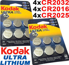 CR2032-25s-16s 3v LITHIUM Coin Cell Batteries For 3D Glasses Car Key Scales etc