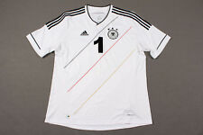 Deutschland Trikot 2012  #1 OPA Adidas Weiß EM Jersey Home DFB Germany  Gr. XL