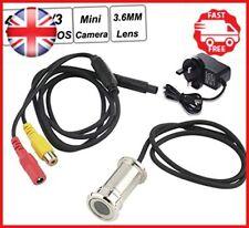 BW Mini 3.6mm Lens Surveillance Camera CCTV Door Eye CCTV Hole Home Security Eye