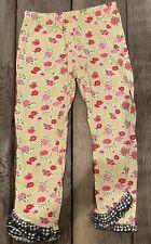 (Euc!) Mustard Pie Girls Ruffle Pants, 6x