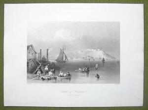 CANADA Citadel of Kingston - 1841 Engraving Print by BARTLETT