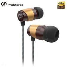 ProStereo F3 Dynamic Driver Noise Isolation High-Fidelity Hi-Res Headphones