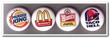 VEGAN - VEGETARIAN Buttons Pins Badges 4 animal rights peta anti fastfood