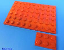 LEGO Nr- 302121 / 2x3 Plaque rouge / 10-pc