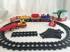 Playmobil 123 Train Railway RETIRED & More 32 Pieces Figures Railroad