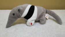 "10"" Vtg Anteater, Plush Toy, Beanbag, Stuffed Animal, Ty"