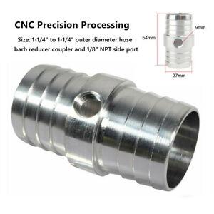 "1-1/4"" Hose w/1/8"" NPT Steam Port Adapter Top Radiator LS Swap Coolant W/O-ring"