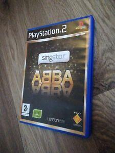 SingStar Abba (PS2) Playstation 2