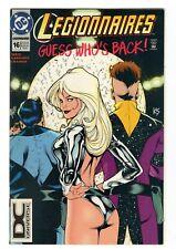 Legionnaires #16 DC Comics DCU Universe Logo Variant 1994 Adam Hughes Cover Art