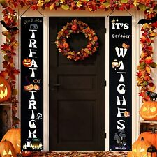 Halloween Decorations Outdoor,Halloween Door Decorations,Happy Halloween Banner