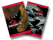 "Jurassic Park and The Lost World ""The Collection"" (Dvd, 2-Disc Set) both movies!"