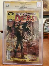 The Walking Dead 1 CGC 9.6 Image Comics 1ST print with Sketch by Tony Moore