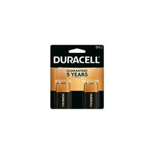 12 Duracell Coppertop 9V Battery  6 - 2 packs FREE SHIPPING