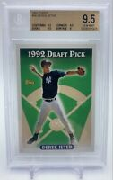 1993 Topps #98 Derek Jeter New York Yankees RC Rookie HOF BGS 9.5 GEM MINT