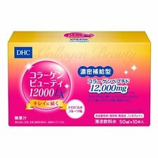 DHC Collagen Beauty Drink 12000 EX 50mL x 10 From Japan
